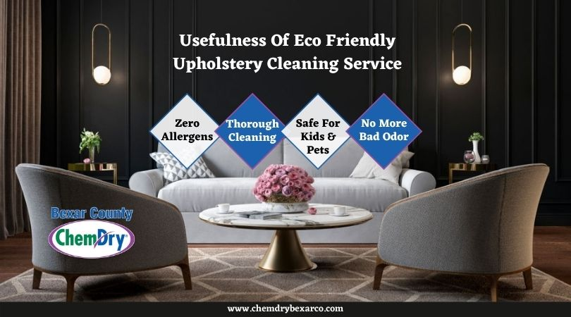 Eco Friendly Upholstery Cleaning Services San Antonio