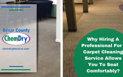 Why Hiring A Professional For Carpet Cleaning Service Allows You To Seat Comfortably?