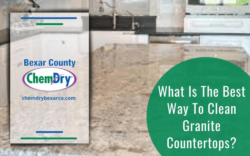 Ways to Clean Granite Countertops