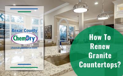 How To Renew Granite Countertops?