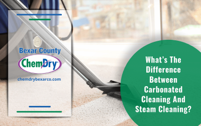 What's The Difference Between Carbonated Cleaning And Steam Cleaning?