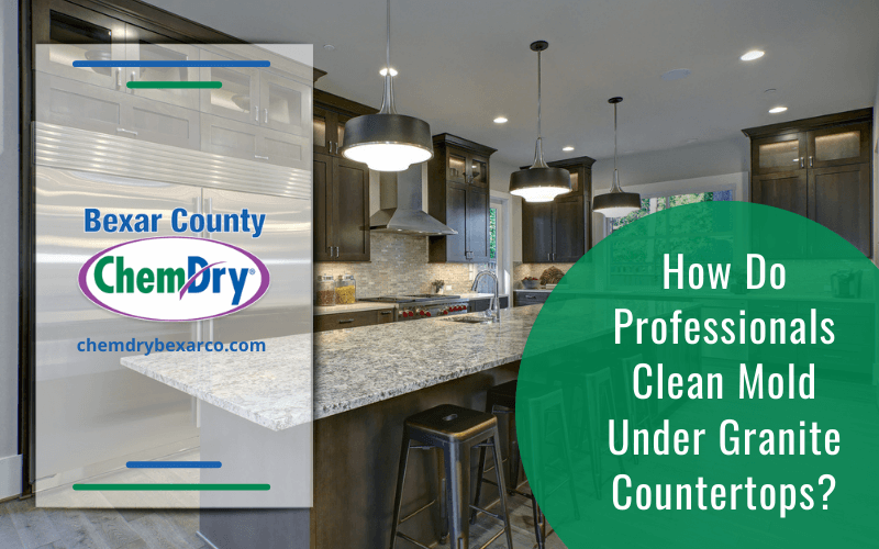 How Do Professionals Clean Mold Under Granite Countertops