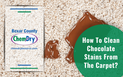 How To Clean Chocolate Stains From The Carpet?