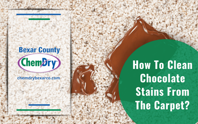 How To Clean Chocolate Stains From The Carpet
