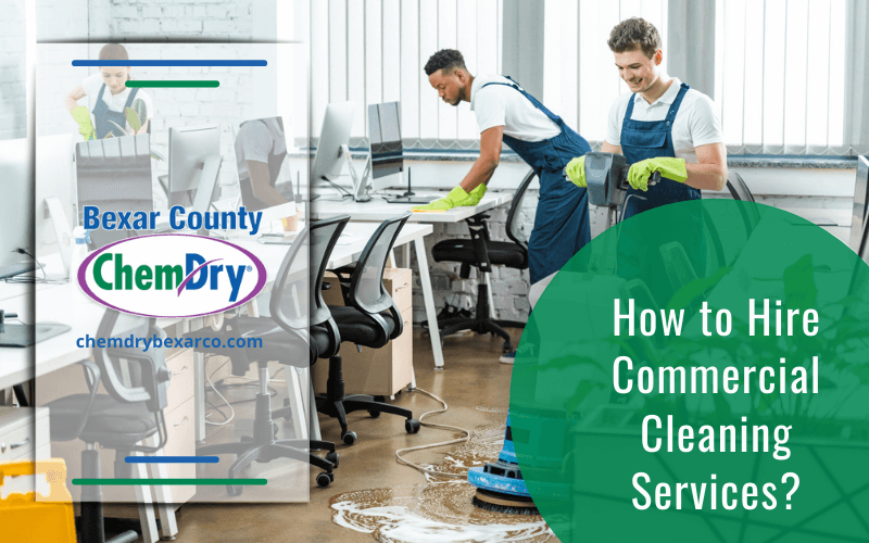 How to Hire Commercial Cleaning Services
